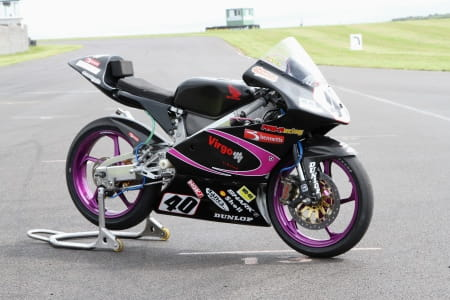 Joe Francis' 2012 race bike