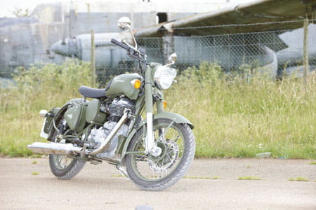 Royal Enfield Battle Green