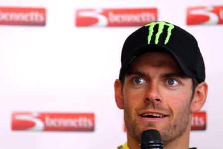 Cal Crutchlow at the Bennetts Ultimate Track Day