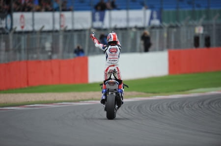 Jonathan Rea won at Silverstone