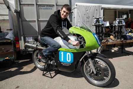 Connor Cummins will be at the Classic TT