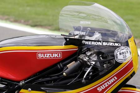 Barry Sheene's Suzuki XR14