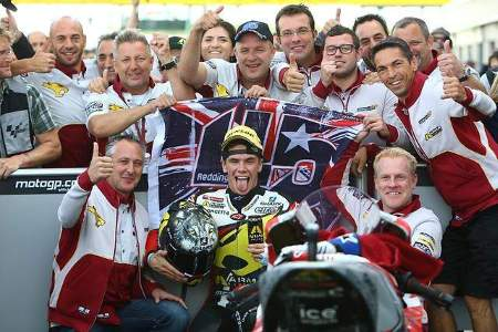 Redding and the winning MarcVDS squad