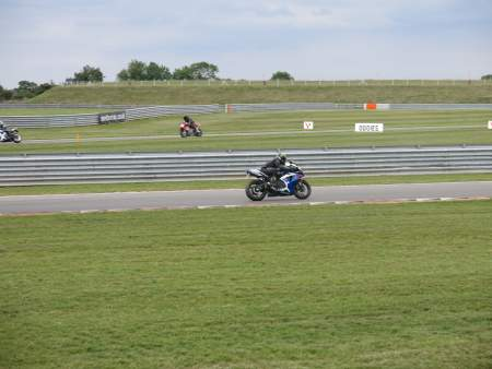 Dan on his GSXR750