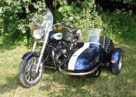 Triumph Bonneville with Watsonian Squire sidecar