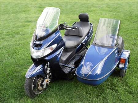 Sidecars in demand