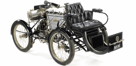 Bonhams are auctioning this ariel quadricycle