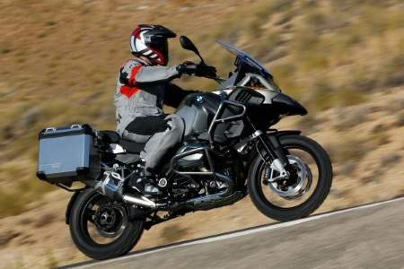 2014 BMW R1200GS Adventure. Comfortable on the road too.