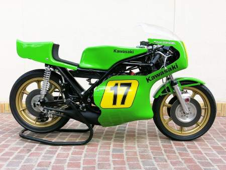 Kawasaki's H1-RW could raise £70,000 at the auction