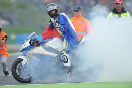 Barrier won his second title in Magny-Cours