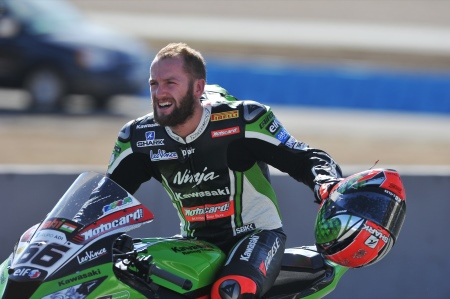 Sykes won the championship in Jerez