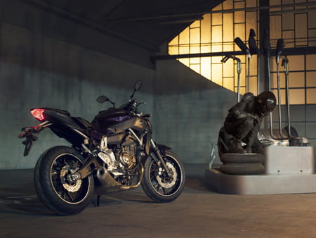 EICMA: Yamaha introduces MT-07