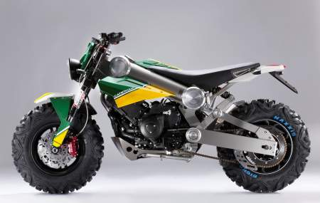 Caterham Bikes unveil the Brutus
