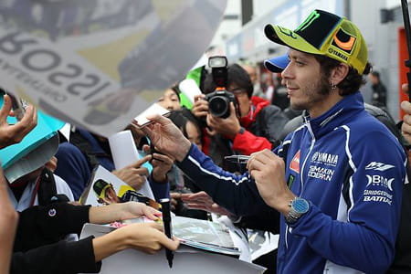 Two more years in MotoGP for Rossi