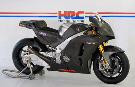 Honda's 2014 production racer