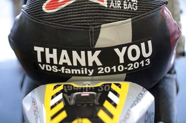 Scott Redding's message to the Marc VDS team at the final race in Valencia