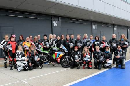 Costello's first women only track day this year