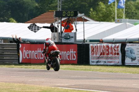 It's not time for the chequered flag at Mallory just yet