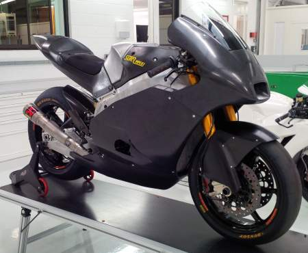 Suter-chassied Caterham Moto2 bike