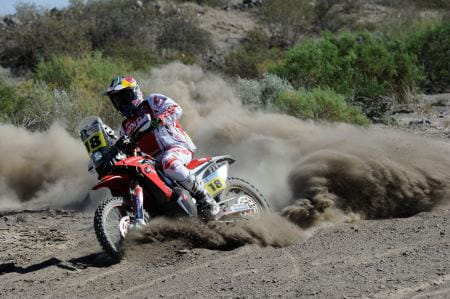 Sam Sunderland takes his first Dakar win