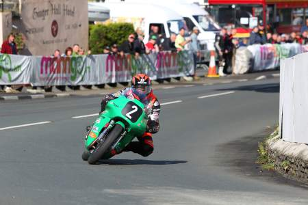Farquhar on the 500cc Paton in 2012, he'll be racing it again in 2014