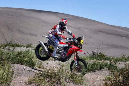 Barreda wins two out of three stages