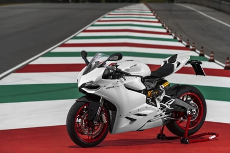Ducati's 899 Panigale is the most registered bike in December