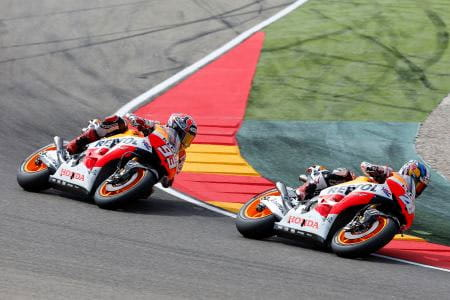MARQUEZ CUTS THE CABLE