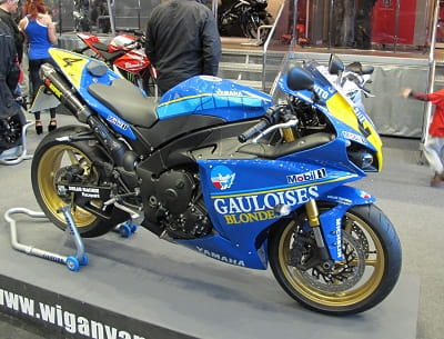 Gauloise R1 replica was gorgeous