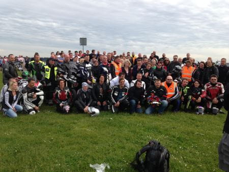 Poole Quay Bikers Trust ride out