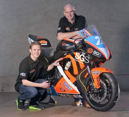 Danny Webb joins Ryan Faquhar's Kawasaki squad for the Isle of Man TT