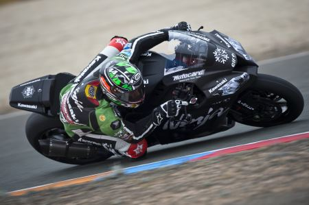 Salom will ride an EVO Kawasaki in the factory team