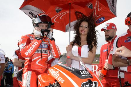 Dovizioso will be wanting to beat his team mate