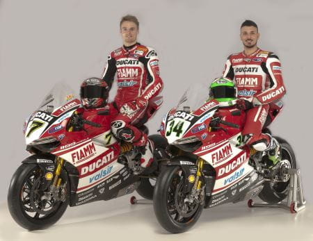 Ducati launch their 2014 WSBK team