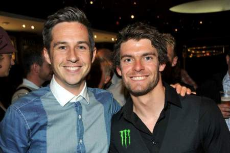 Eurosport's new BSB and WSBK presenter poses with Cal Crutchlow