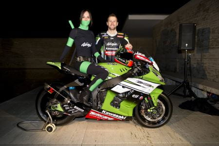 Kawasaki launch their team in Barcelona