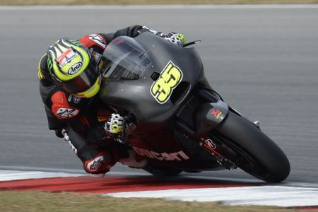 Crutchlow improved on Day 2