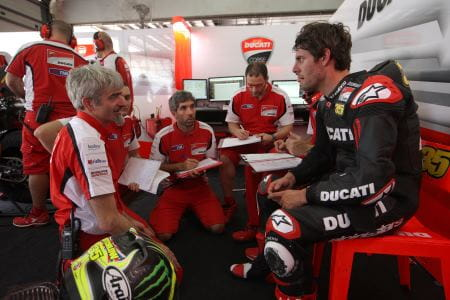 Crutchlow says Ducati has progressed