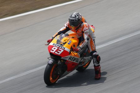Marc Marquez is on fire in Sepang