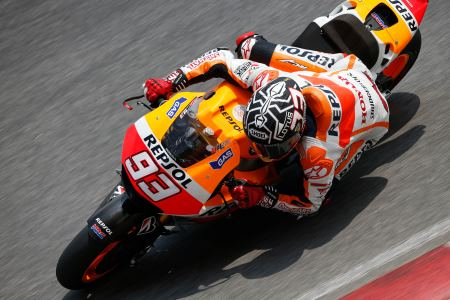 Marc Marquez broke lap records in Sepang