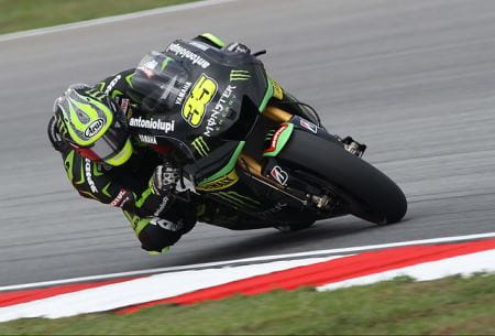 Crutchlow on his M1 in 2013