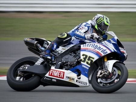 Crutchlow in World Superbikes