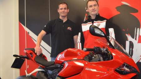 Ducati will supply the California Superbike School with bikes