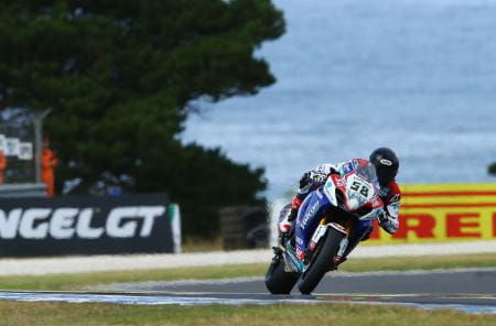 Laverty is on top at Phillip Island