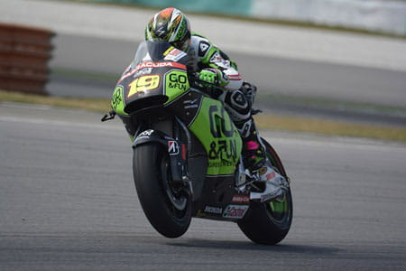 MotoGP test: Sepang day 1