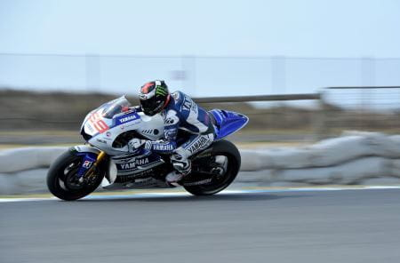 Lorenzo is on top in Phillip Island