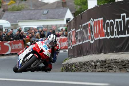 Michael Dunlop took four TT wins in 2013