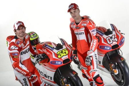 The new Ducati livery