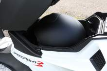 Peugeot Speedfight 125 underseat storage
