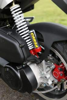 Peugeot Speedfight 125 rear shock